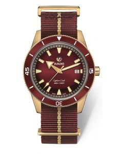 Captain Cook Automatic Bronze red