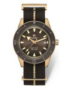 Captain Cook Automatic Bronze braun 42mm