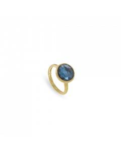 Ring 18kt GG/London Topaz