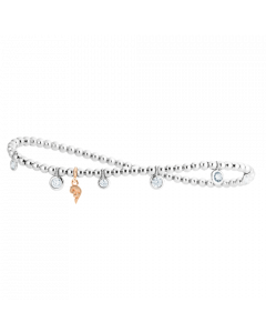 Armband Prosecco d'oro 7 Weißgold