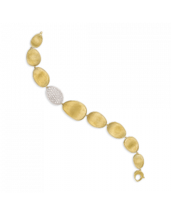 18kt Gold Armband mit Diamanten