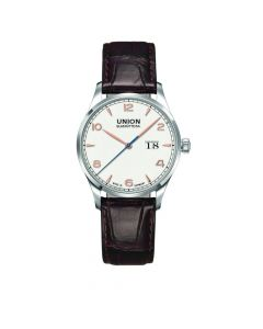 NORAMIS BIG DATE Leder 40mm