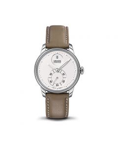 SERIS Small Second Leder 36mm