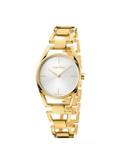 DAINTY PO LY PVD1N PO/BR B-LET SIL DIAL