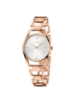 DAINTY PO LY PVD5N PO/BR B-LET SIL DIAL