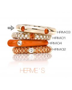 POP Ring Hermes neverend 18kt RG