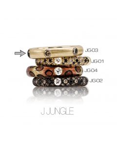 POP Ring Jungle neverend 18kt YG