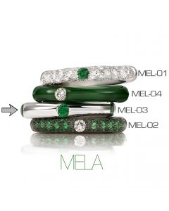 POP Ring Mela neverend 18kt WG