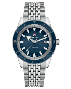 Rado Captain Cook Automatic blue 42mm